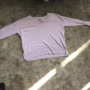 Purple boxy sweater